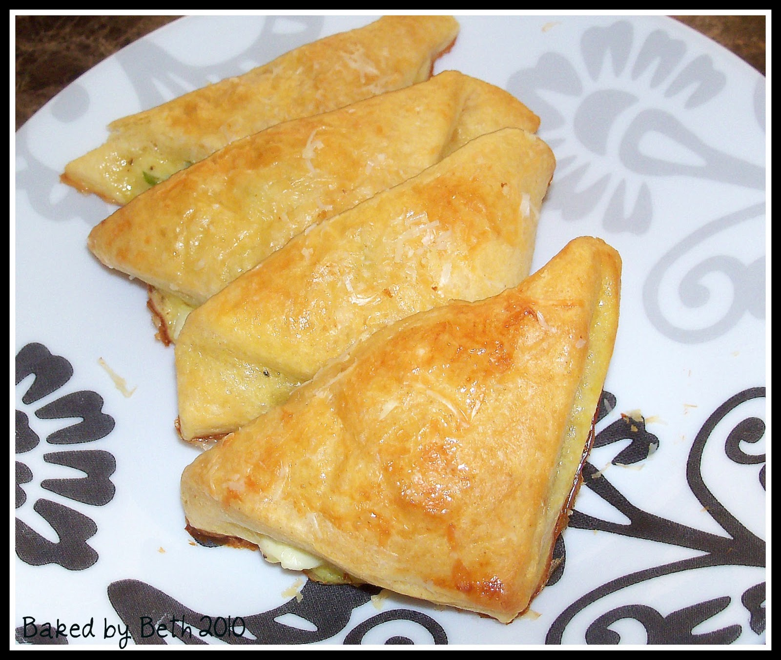 Cheese Crescent Triangles Recipe — Dishmaps