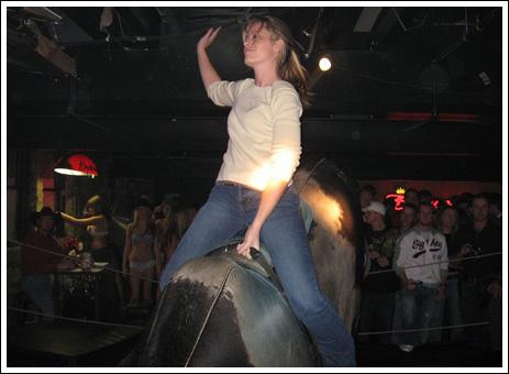 Sexy bull riding 4 Sexy bull riding!