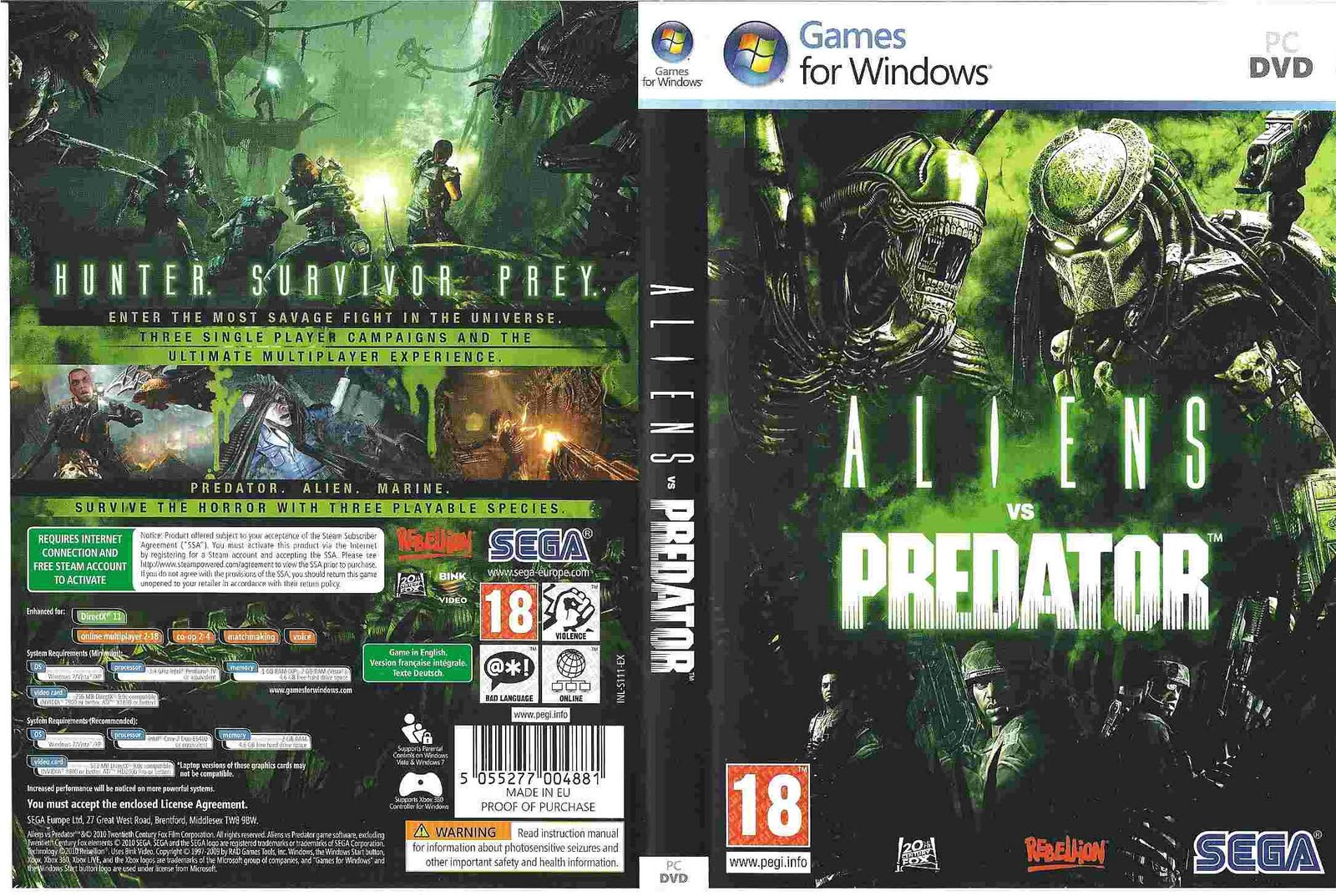 Download Free Cover DVD PC Games | Movies | PSP