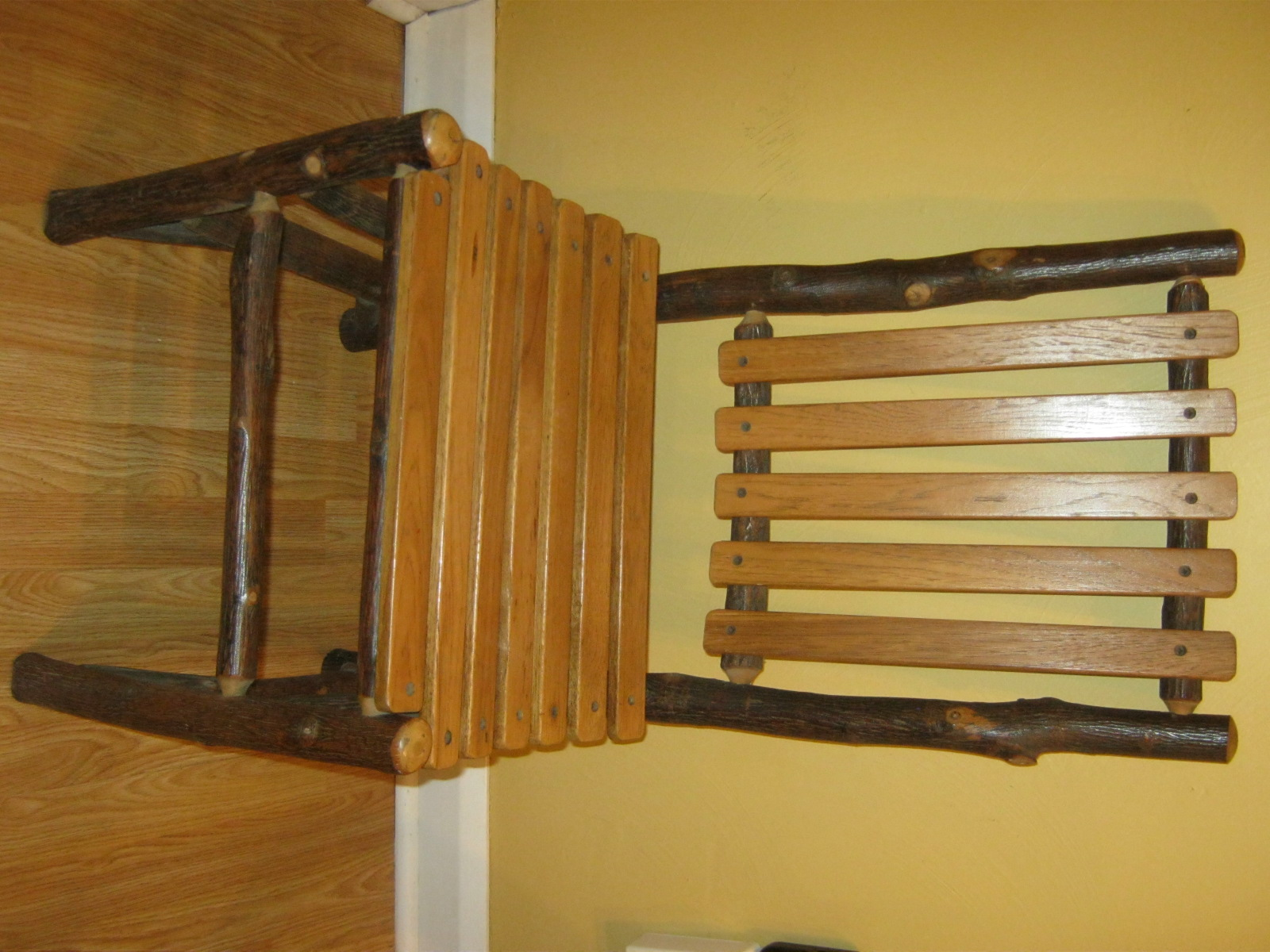 Cash It Stash It Or Trash It Old Hickory Chair