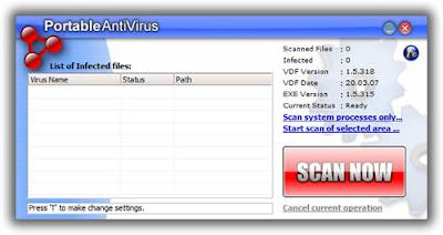 Portable Antivirus 1.5