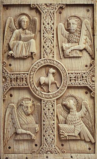 four evangelist symbol dans immagini sacre evangelists