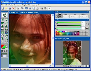 VCW VicMan's PhotoEditor freeware Photo editor free download
