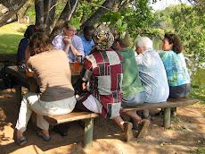 Samen met de Zambiaanse pilotgroep nadenken over voortzetting van de samenwerking