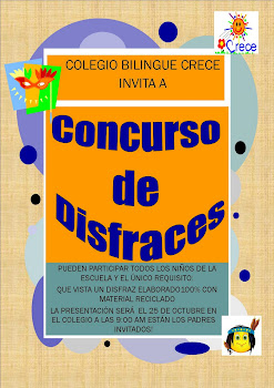 CONCURSO DE DISFRACES