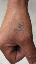 Om Tattoo from Ladakh