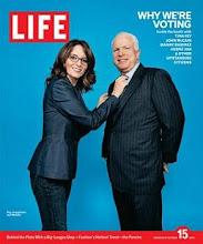 Tina Fey (Sarah Palin) John McCain