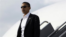 The coolness factor: people say that Barack could pass as one of his own Secret Service men