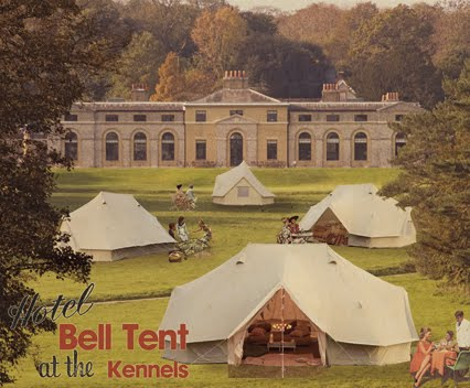 At the draw dropping amount of £2000 per tent for the weekend Hotel Bell Tent at the Kennels was the most expensive option. Each tent slept 2 adults and 2 ... & The Happy Glamper