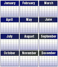 annual calendar for ISO 9001 certified Companies