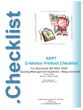 ISO 9001:2008 checklist