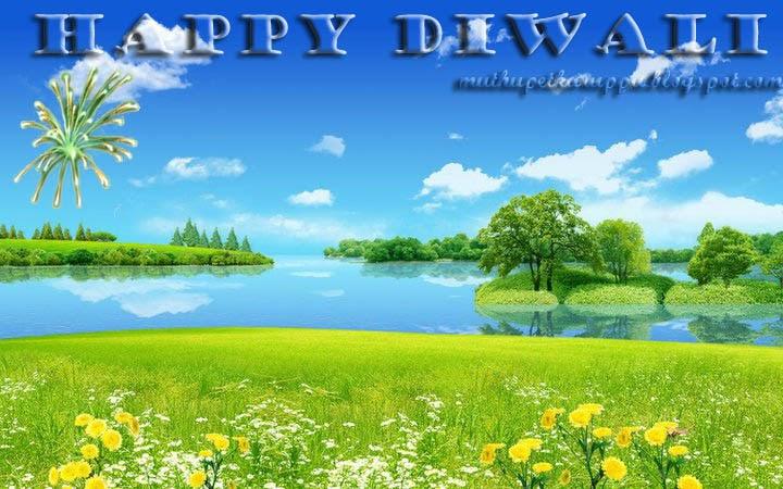 Deepavali template pictures