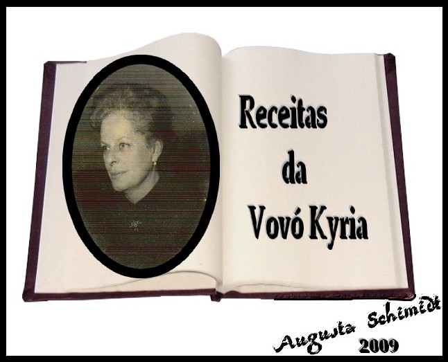 Receitas da Vovó Kyria