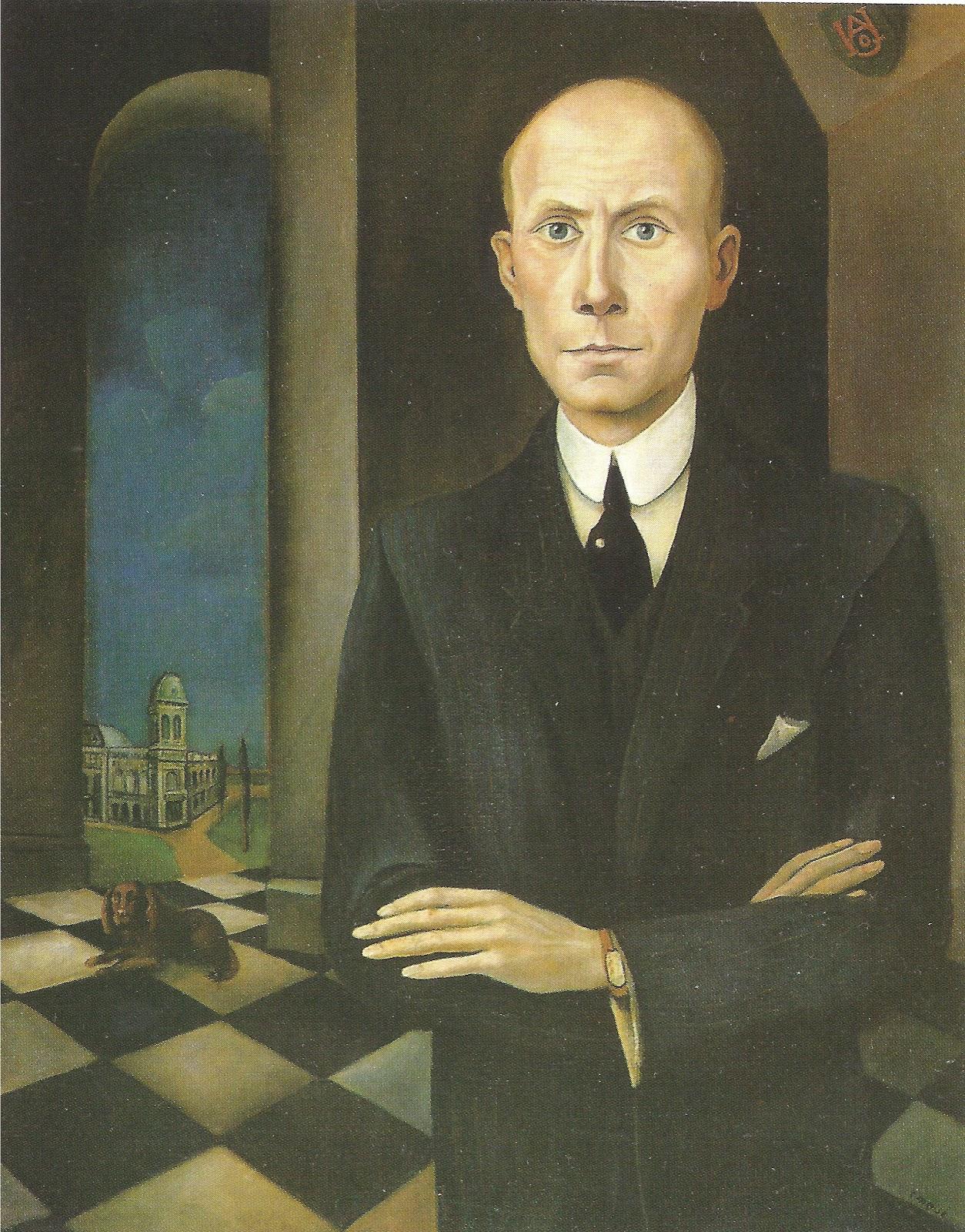 Carlos mense portrait of underberg (1922)