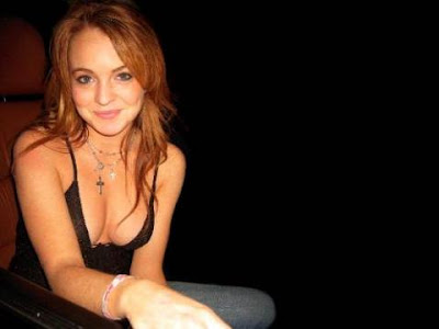 Lindsay Lohan Sexy Wallpaper Photos