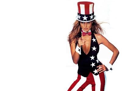 Heidi Klum american wallpaper