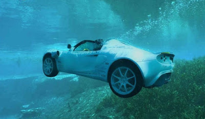 After all, Its SQUBA - The Swimming Car