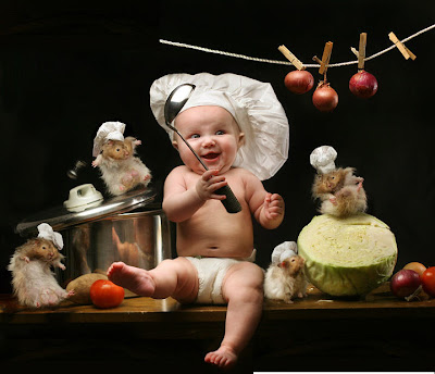 Baby Chef - Really Unusual Baby Pics