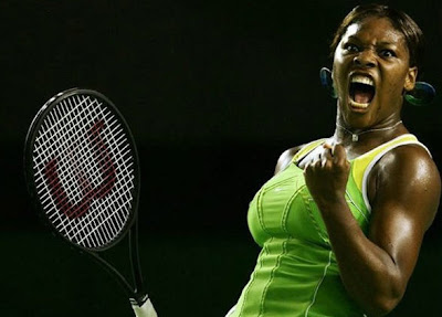 Roaring Serena Williams - Unusual Tennis Reactions