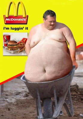 Funny McDonald's Advertisement Photo