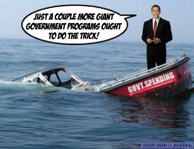 Obama Debt Boat