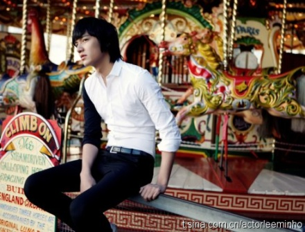 SS501 and BOF Forever: [Info] Lee Min Ho Official Website 