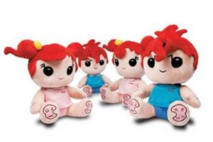 newsmymp3doll21 300x200 Poupée Newsmy Doll : le MP3 pour bébés