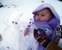 Rachel's 1st snowman