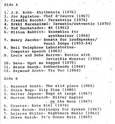 J.D. Robb - Rhythmania: Electronic Music From Razor Blades To Moog