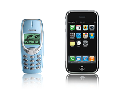 Nokia 3311 vs. iPhone 3G