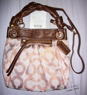 COACH Op Art PARKER Convertible Hippie Crossbody Shoulder Bag 13511