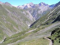Entre la Clarahütte et la Neue Reichenberger Hütte, un coin perdu