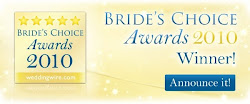 We are a Brides Choice Winner for 2010