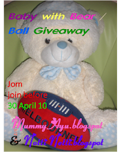 Contest baby with ball/bear