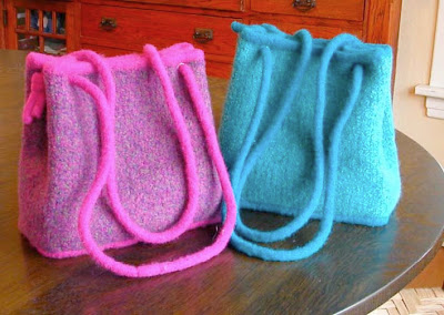 Knitting Pattern Central Bags : FELTED BAG KNITTING PATTERNS FREE   FREE KNITTING PATTERNS
