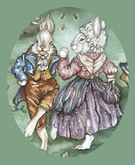 And rabbits do the minuet,