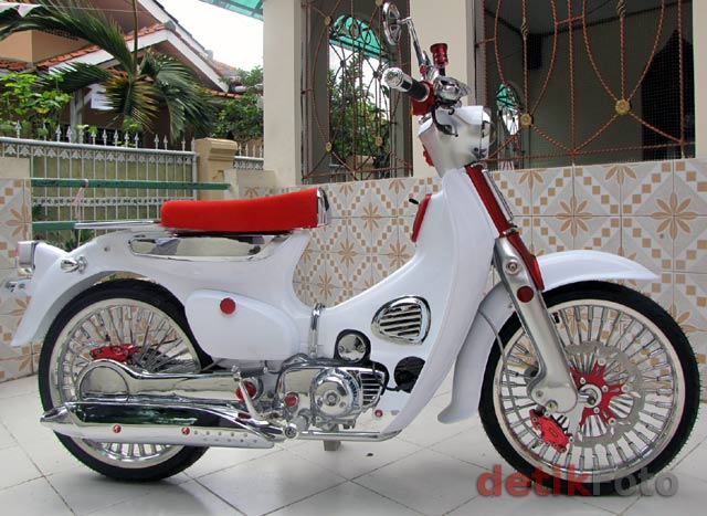 Image of Honda C70 Modifikasi