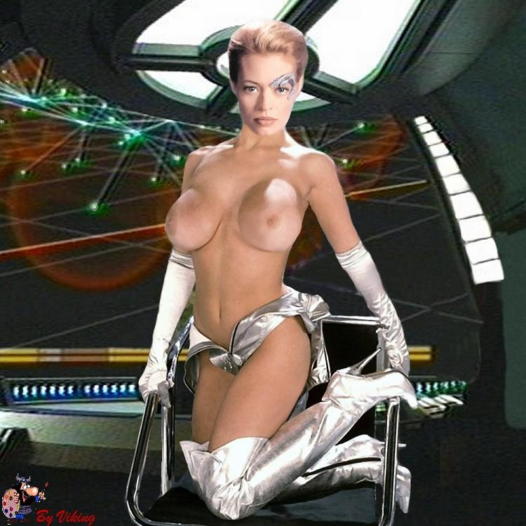 Healthy! Star trek voyager fake nude