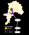 Mapa Provincia de Quillota