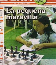 La Primera Campeona de Chile del Circuito Escolar de Ajedrez Provincia de Quillota