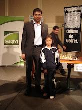 Viswanathan Anand  Mackarena Gonzalez