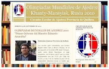 OLIMPIADAS MUNDIALES DE AJEDREZ 2010