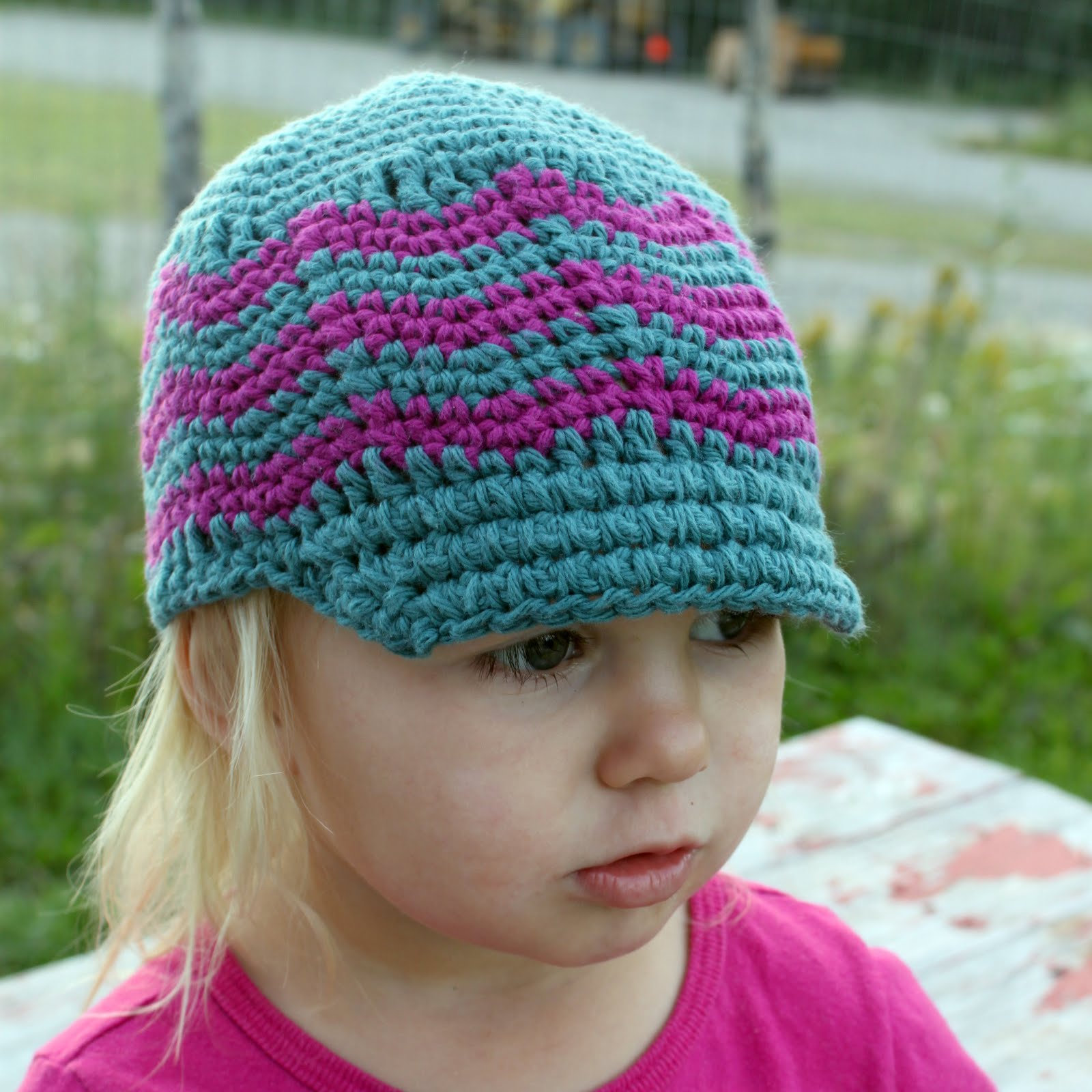 DewDrop's Designs: Hat with brim