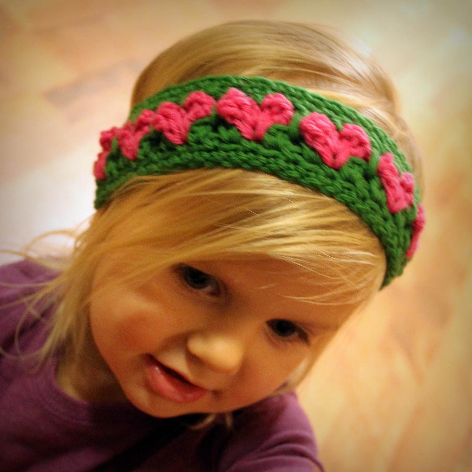 Вязание ободка на голову для девочки