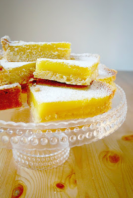 SMS: Toasted Almond Lemon Bars