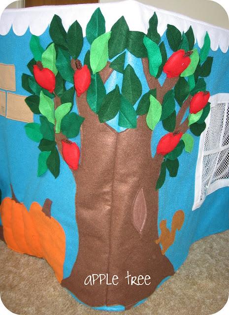 домик для детей из ткани