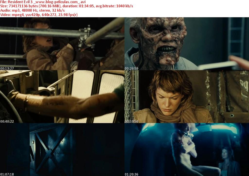 Pelicula Resident Evil 1 Espanol Latino