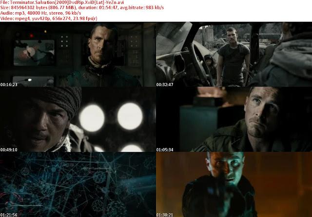 Terminator 4 dvdrip latino