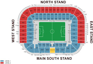 Celtic Park - Seating Chart