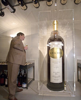 Largest bottle of wine